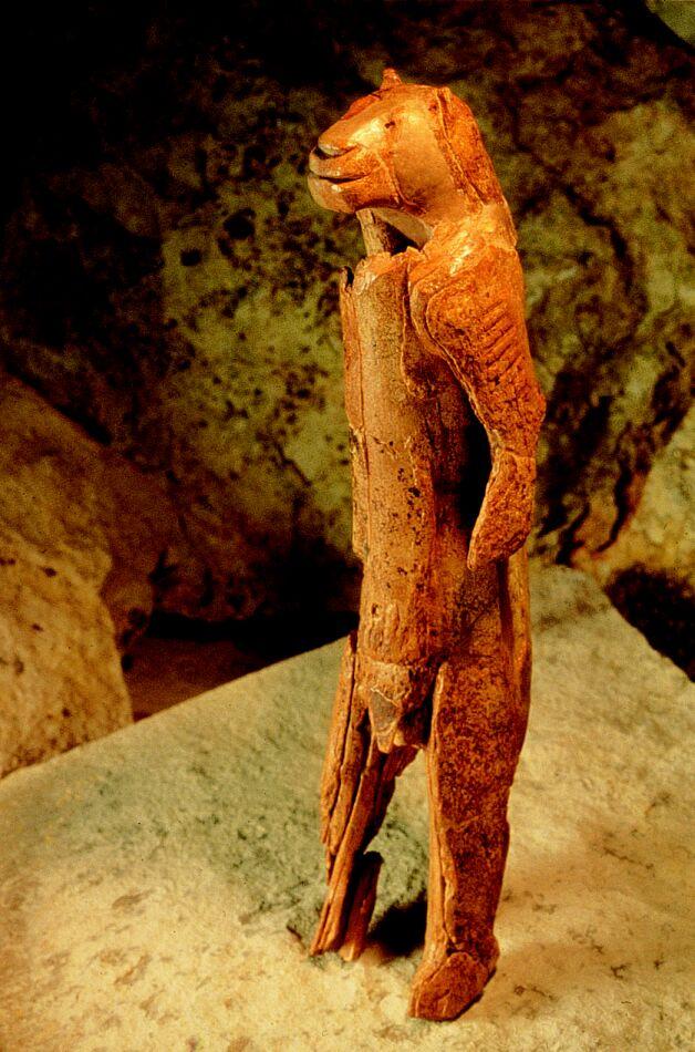 Lion Man Cave Art : Ridenhour lion man