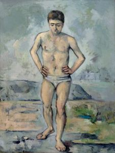 The Bather, by Paul Cezanne