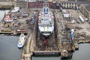 Todd Shipyard Graving Dock, Red Hook, Brooklyn