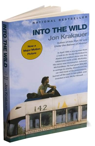 a book analysis of into the wild by jon krakauer In the summer of 1990, christopher mccandless donated all of his $25,000 in  savings to charity, gave away most of his possessions and all of.