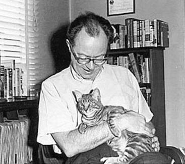 Anthony Boucher, a man  who, among his other sterling attributes, had great taste in pets!