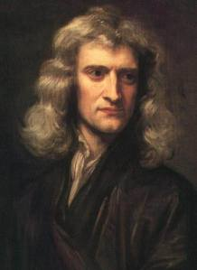 Godfrey Kneller's 1689 portrait of Sir Isaac Newton
