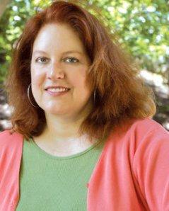 The gracious - & vivacious! - Julia Spencer-Fleming