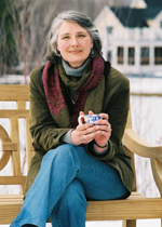 The vibrant and beautiful Louise Penny