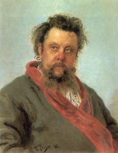 Modest Mussorgsky, by Ilya Repin