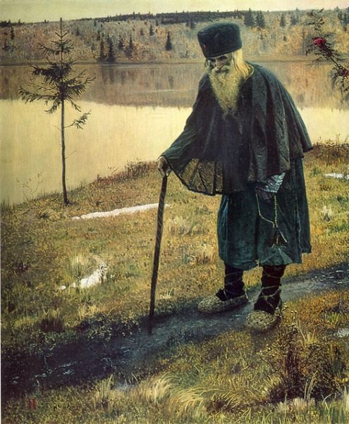 The Hermit, by Nesterov