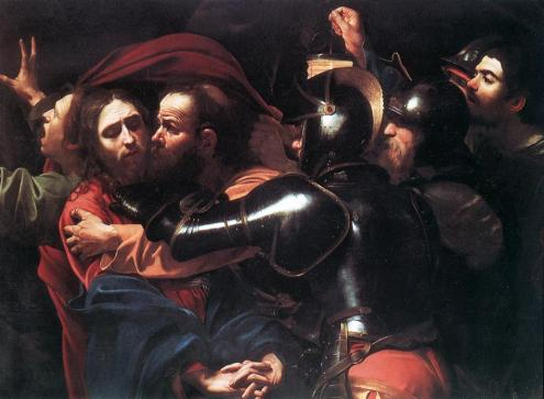 The Taking of Christ, by Caravaggio