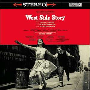 The famous cover of the original Broadway cast album. In the late 1950's, you saw it everywhere.