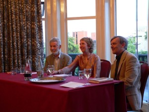 Stuart Pawson, Ann Cleeves, and Martin Edwards