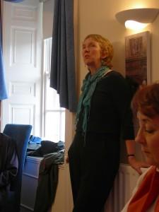 Ann Cleeves in Warkworth