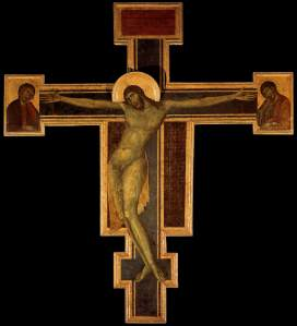 Crucifix, by Cimabue