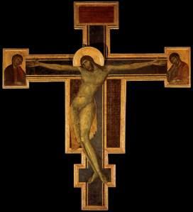 Crucifix, by Cimabue