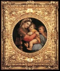 Madonna della Seggiola (Madonna of the Chair) - Raphael