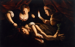 Judith Cutting Off the Head of Holofernes - Trophime Bigot (Master of the Candlelight) (French, ca. 1579-1650)