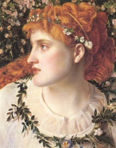 Perdita, by Anthony Frederick Augustus Sandys (1866)