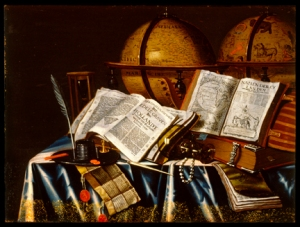 """Vanitas"" Still Life - Adam Bernaert (Dutch, active ca. 1660-1669)"