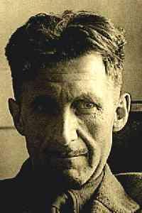 Eric Arthur Blair, better known as George Orwell