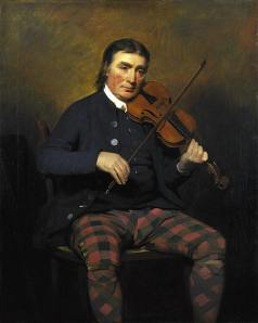 Niel Gow, by Henry Raeburn (1756-1823)