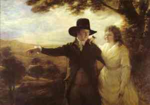 Sir John and Lady Clerk of Penicuik, by Henry Raeburn