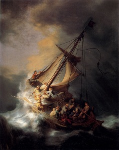 Storm on the Sea of Galilee, by Rembrandt