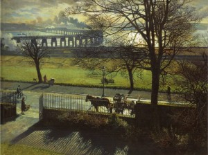 The Tay Bridge from my Studio Window, by James McIntosh Patrick (1948)