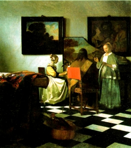 The Concert, by Vermeer