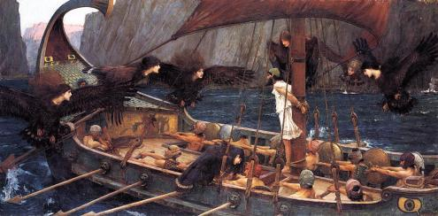 Ulysses and the Sirens, John William Waterhouse, 1891