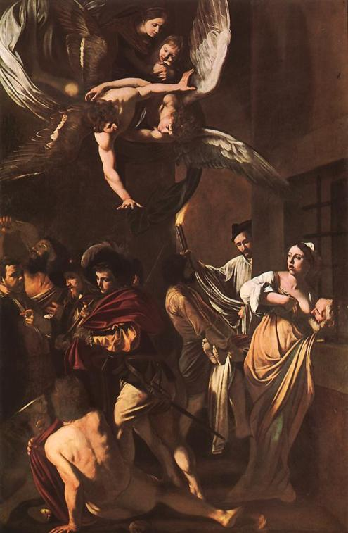 The Seven Acts of Mercy, Church of Pio Monte della Misericordia