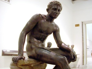 Seated Hermes