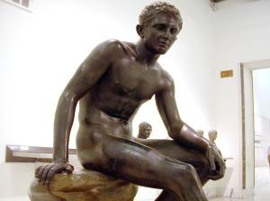 Seated Hermes