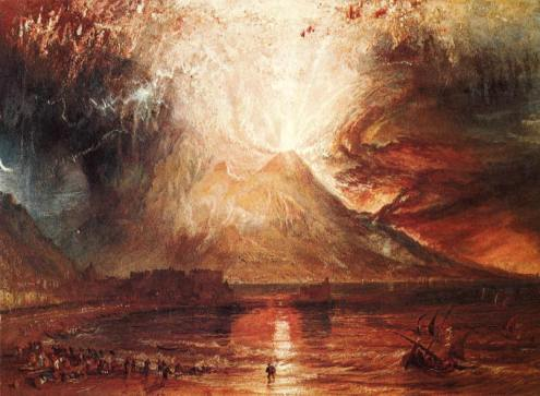 The Eruption of Vesuvius - JMW Turner