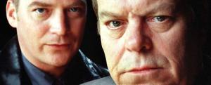 Colin Buchanan as Peter Pascoe and Warren Clarke as Andy Dalziel