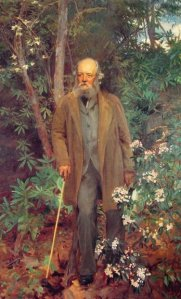 frederick Law Olmsted, painted by John Singer Sargent