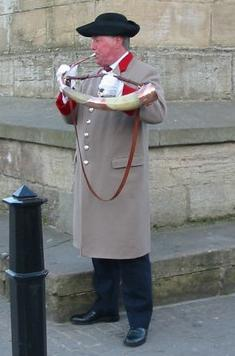The horn blower of Ripon