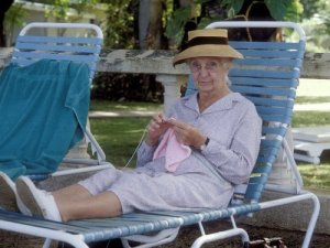 Joan Hickson as Miss Marple in A Caribbean Mystery
