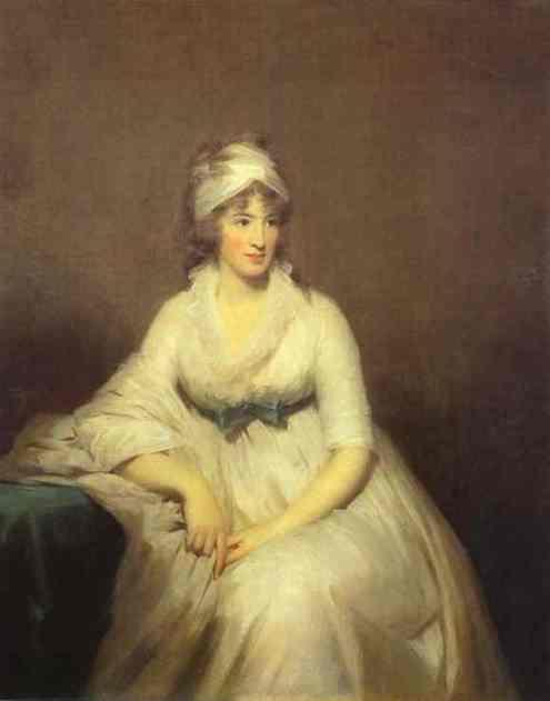 Isabella McLeod, Mrs. James Gregory, by Henry Raeburn