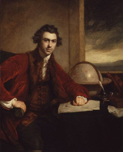 Joseph Banks, by Sir Joshua Reynolds
