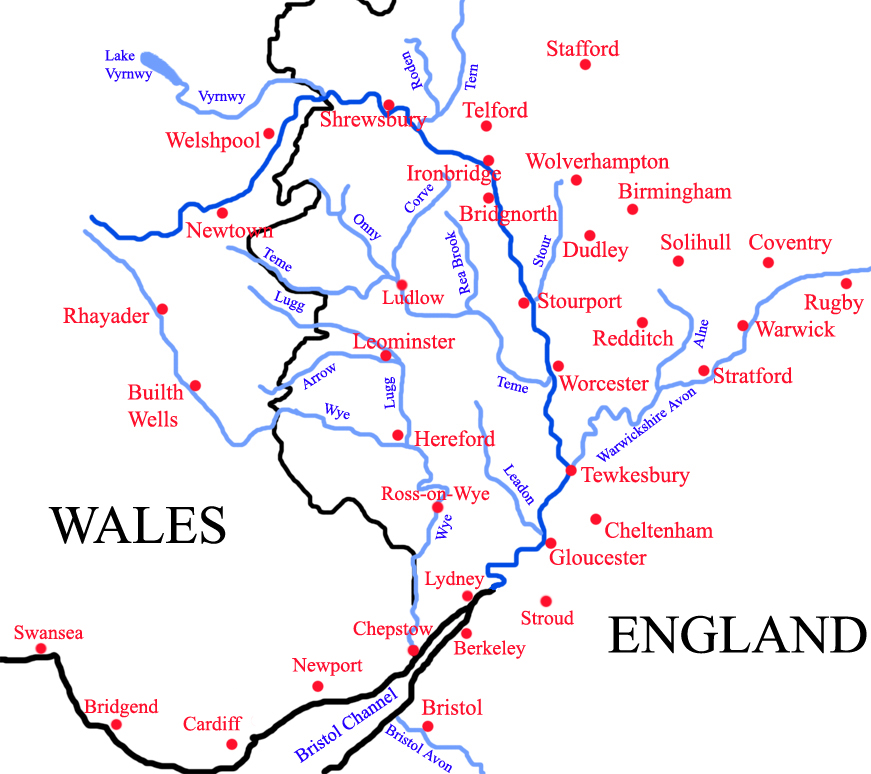 Fascinating facts about Britain: the River Severn « Books to the ...