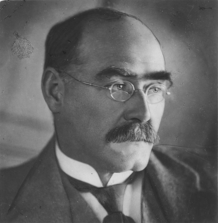 "what was rudyard kipling 1 portrait of rudyard kipling (william strang) fig 2 the book poster for ""the  jungle book,"" published by the century co, courtesy of the new york public."