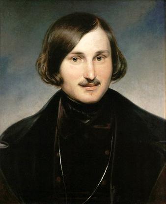 Nikolai Gogol, by Anton Moller
