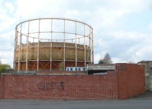 Bath's last gas holder