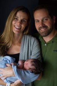 Erica, Ben, and Welles Samuel