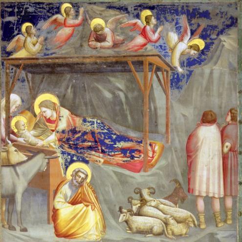 Nativity, by Giotto di Bondone
