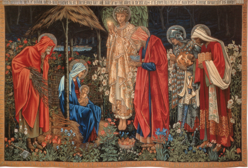 Adoration of the Magi - Tapestry by William Morris & Co., designed by Sir Edward Burne-Jones