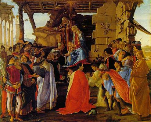 Adoration of the Magi, by Sandro Botticelli