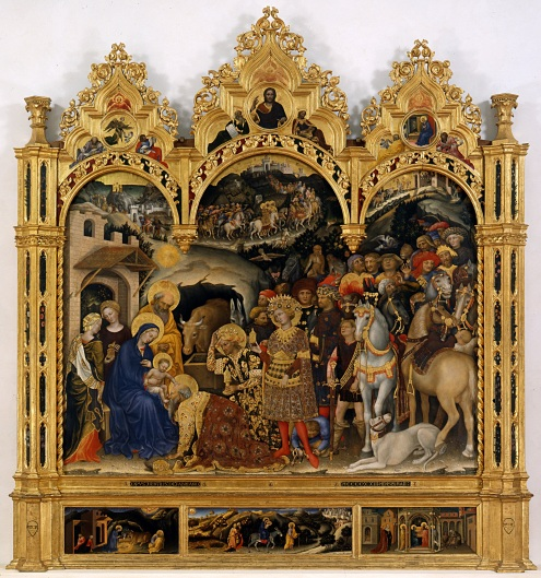 Adoration of the Magi, by Gentile da Fabriano