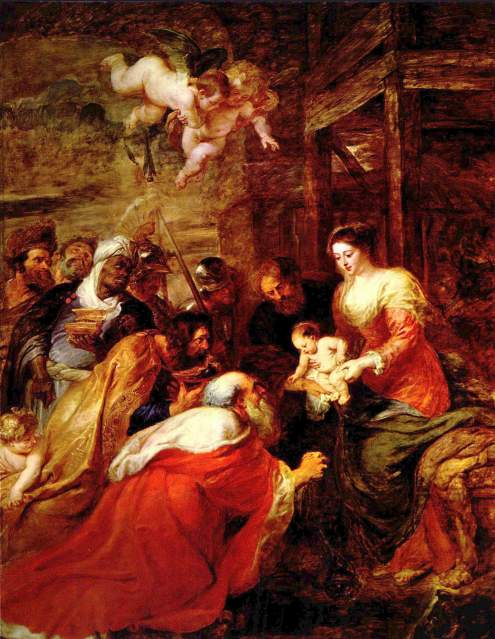 Adoration of the Magi, by Peter Paul Rubens
