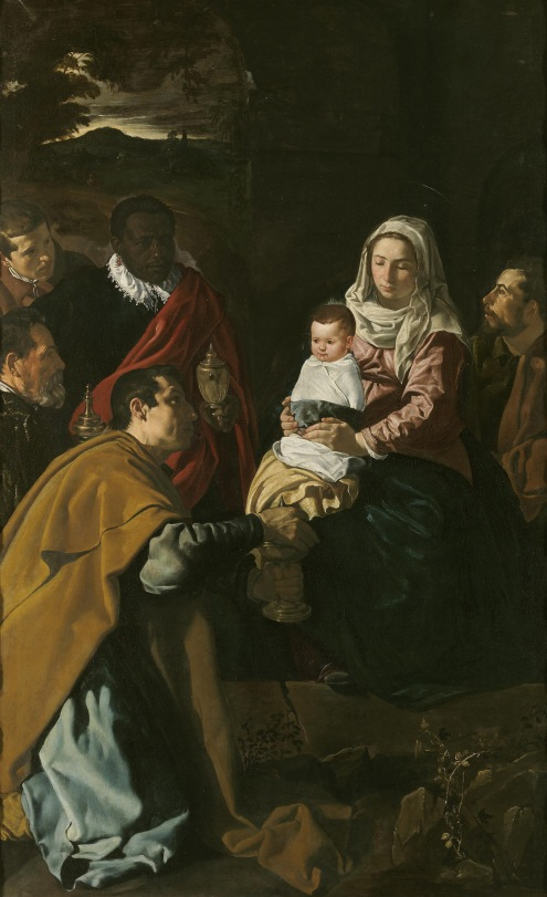 Adoration of the Magi, by Diego Velasquez