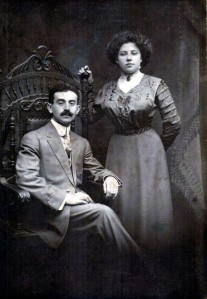 My maternal grandparents, Nathan Gusman and Mary Davidoff Gusman