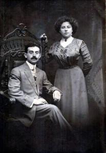 My maternal grandparents, Nathan Gusman and Mary Davidoff Gusman
